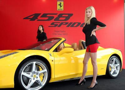 New Ferrari 458 Spider starts from RM1.9 mil