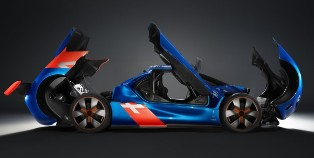 Renault shows off the Belinette inspired Renault Alpine A110-50 Concept