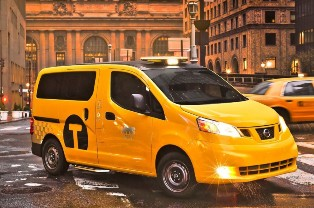Nissan unveils the Taxi of Tomorrow