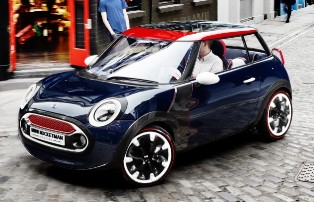 MINI greets the Olympics with the Rocketman Concept