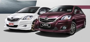 UMW launches the improved 2012 Toyota Vios