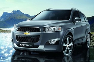 Diesel version of Chevrolet Captiva arrives