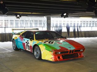 35 years of BMW makeovers at the Art Drive! BMW Art Car Collection in London