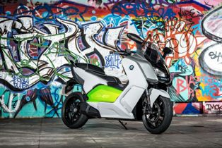 BMW Motorrad C evolution prototype, coming soon to a production near you