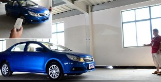 The future is here with remote controlled BYD F3 Su Rui