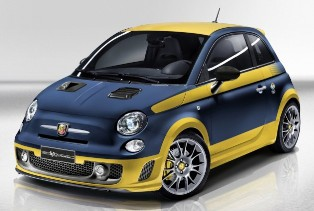 Another tribute to supercars through Fiat Abarth 695 Fuori Serie