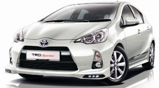 UMW taking orders for the new 2012 Toyota Prius c TRD Sportivo