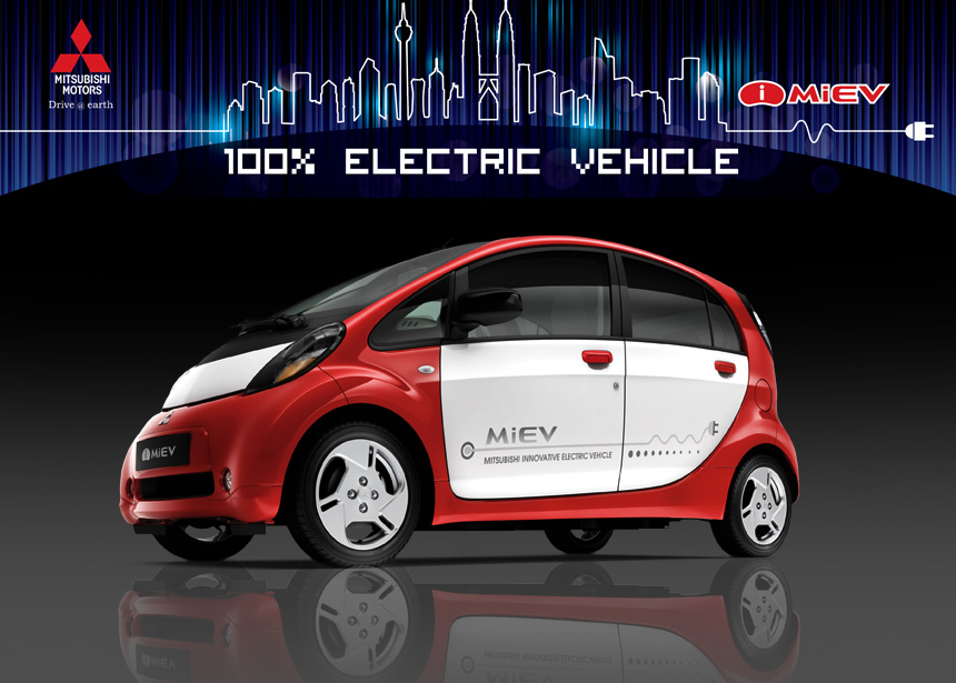 Mitsubishi i-MiEV is first all-electric vehicle launched in Malaysia