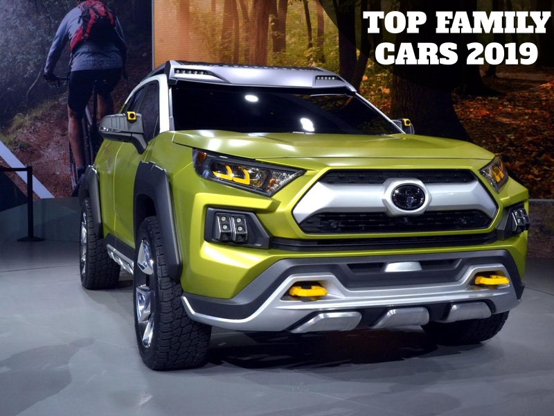 Sneak-peak to top Family Cars 2019